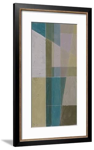 Linear Illusion II-Jennifer Goldberger-Framed Art Print