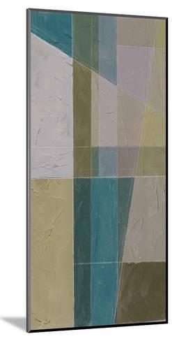 Linear Illusion II-Jennifer Goldberger-Mounted Art Print