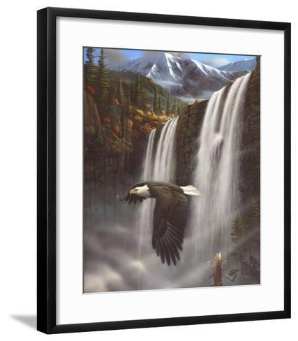 Eagle Portrait-Leo Stans-Framed Art Print