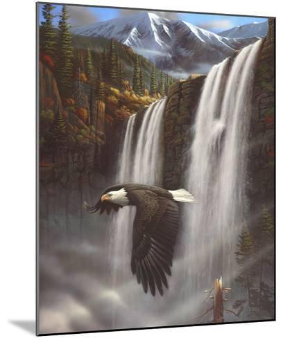 Eagle Portrait-Leo Stans-Mounted Art Print