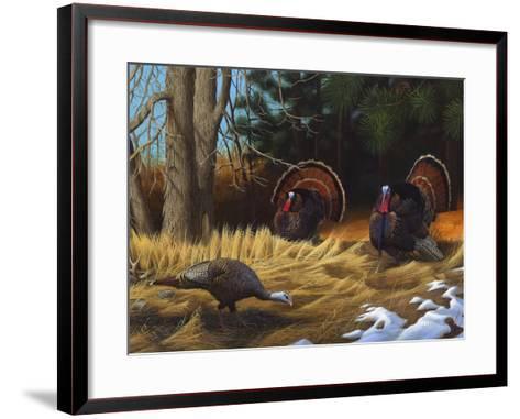 Turkies-Leo Stans-Framed Art Print