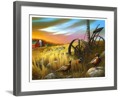 Pheasants I-Leo Stans-Framed Art Print