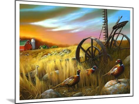 Pheasants I-Leo Stans-Mounted Art Print