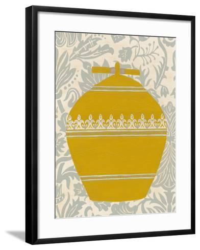 Pottery Patterns II-June Erica Vess-Framed Art Print