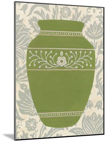 Pottery Patterns III-June Erica Vess-Mounted Art Print