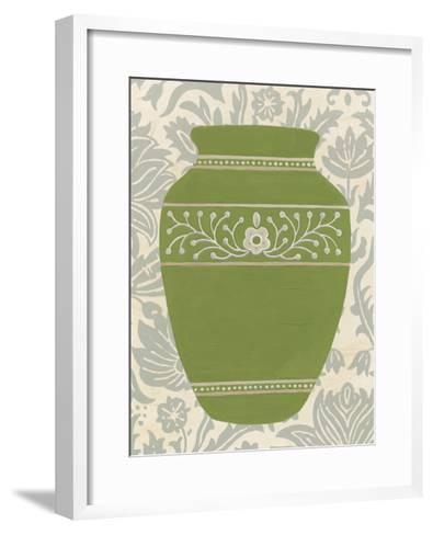Pottery Patterns III-June Erica Vess-Framed Art Print