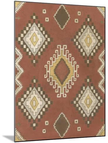 Non-Embellished Native Design II-Megan Meagher-Mounted Art Print