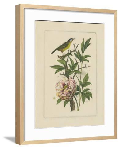 Exotic Bird and Botanical I--Framed Art Print