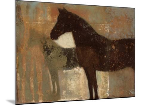 Weathered Equine II-Norman Wyatt Jr^-Mounted Art Print
