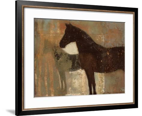 Weathered Equine II-Norman Wyatt Jr^-Framed Art Print