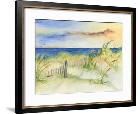 Dunes at Duck-Terry Bailey Burton-Framed Art Print