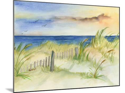 Dunes at Duck-Terry Bailey Burton-Mounted Art Print
