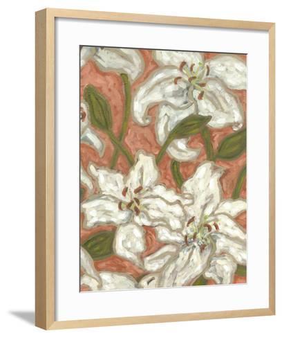 Lily Menagerie II-Karen Deans-Framed Art Print