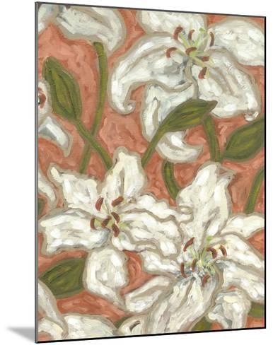 Lily Menagerie II-Karen Deans-Mounted Art Print