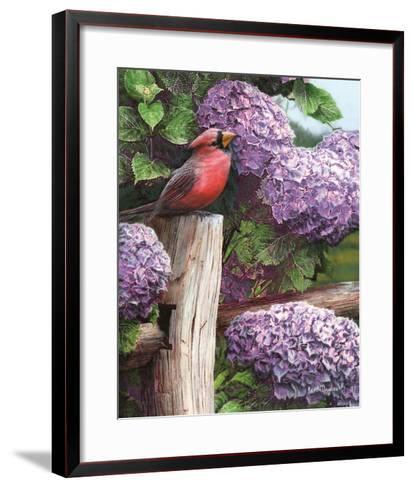 Crimson Splendor-Kevin Daniel-Framed Art Print