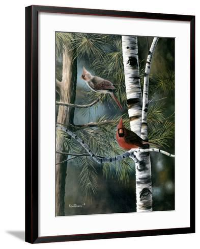 A Touch of Red-Kevin Daniel-Framed Art Print