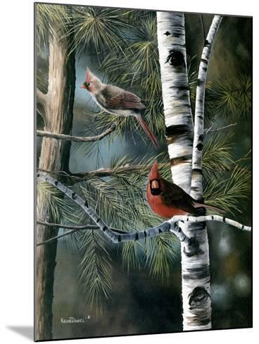 A Touch of Red-Kevin Daniel-Mounted Art Print