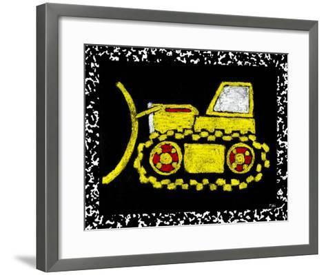 Large Recess I--Framed Art Print