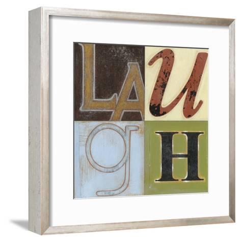 Laugh a Lot-Norman Wyatt Jr^-Framed Art Print