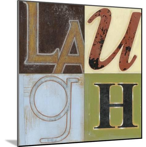 Laugh a Lot-Norman Wyatt Jr^-Mounted Art Print