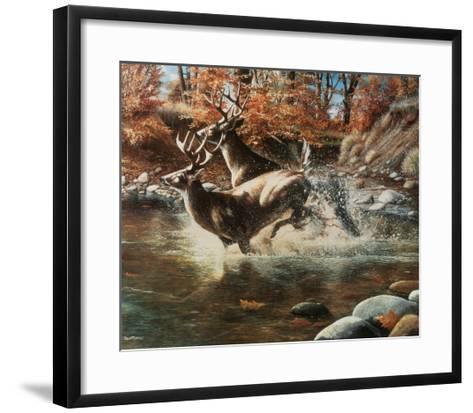 On the Run-Kevin Daniel-Framed Art Print