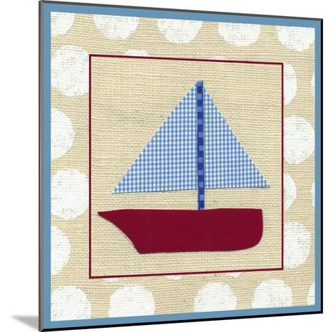 EJ's Sailboat-Chariklia Zarris-Mounted Art Print