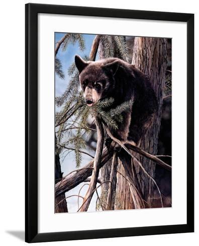 Out on a Limb-Kevin Daniel-Framed Art Print