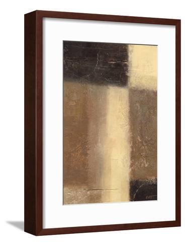 Ivory and Onyx I-Norman Wyatt Jr^-Framed Art Print