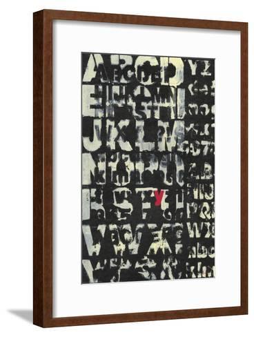 Why-Norman Wyatt Jr^-Framed Art Print