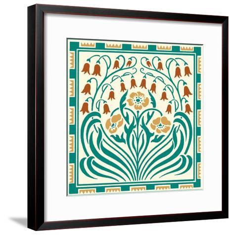 Tile Motif III-Vision Studio-Framed Art Print