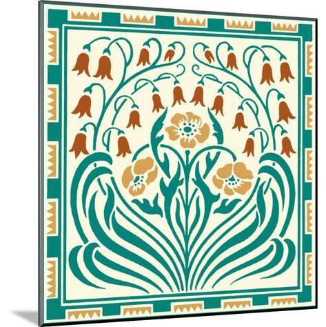 Tile Motif III-Vision Studio-Mounted Art Print
