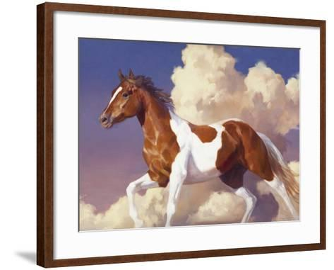 Flight Without Wings-Julie Chapman-Framed Art Print