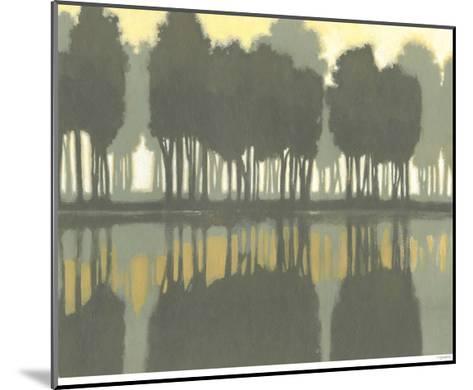 Lake at Dawn I-Norman Wyatt Jr^-Mounted Art Print