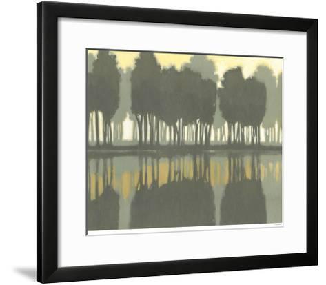 Lake at Dawn I-Norman Wyatt Jr^-Framed Art Print