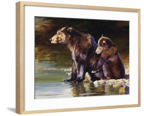 Mother Love-Julie Chapman-Framed Art Print