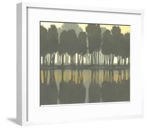 Lake at Dawn II-Norman Wyatt Jr^-Framed Art Print