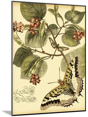 Mini Whimsical Butterflies I-Vision Studio-Mounted Art Print