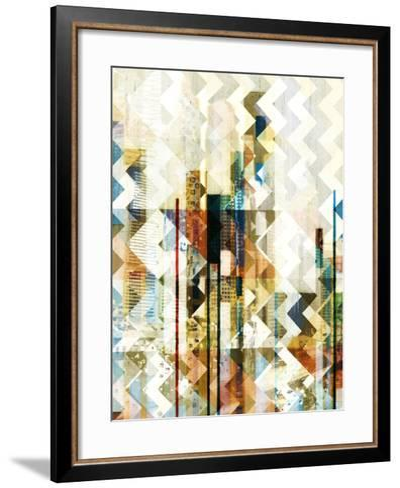 Urban Chevron II-Vision Studio-Framed Art Print