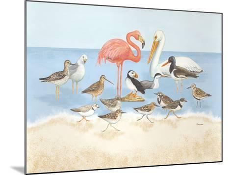 Seabird Summit-Wendy Russell-Mounted Art Print