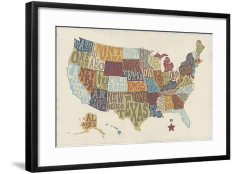 United State Signs-Erica J^ Vess-Framed Art Print