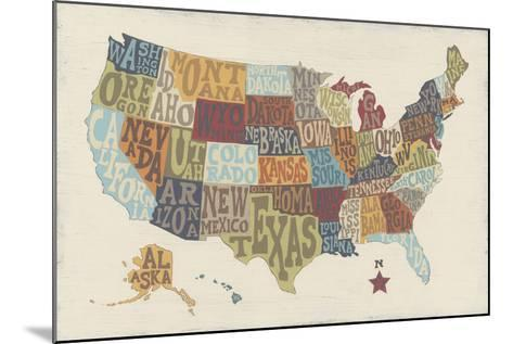 United State Signs-Erica J^ Vess-Mounted Art Print