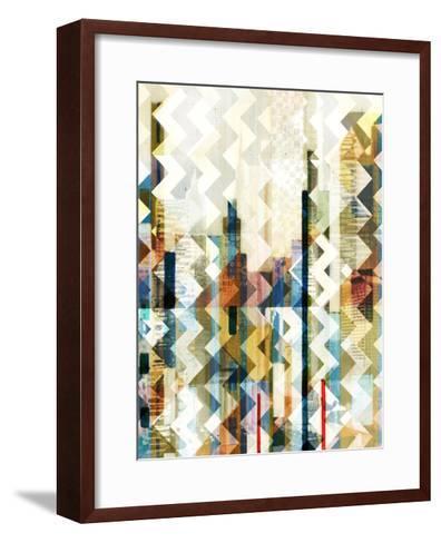 Urban Chevron I-Vision Studio-Framed Art Print