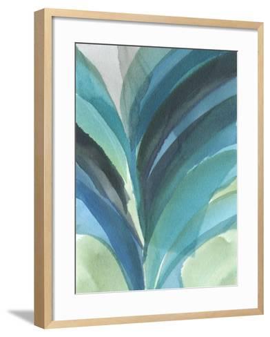 Big Blue Leaf II-Jodi Fuchs-Framed Art Print