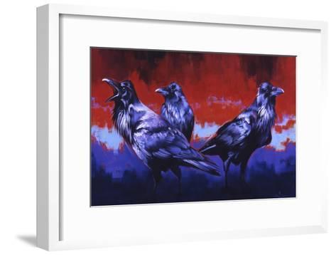 Ready to Rumble-Julie Chapman-Framed Art Print