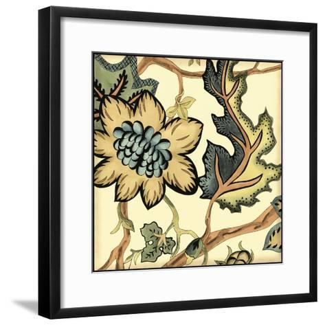 Small Jacobean Tile III-Chariklia Zarris-Framed Art Print