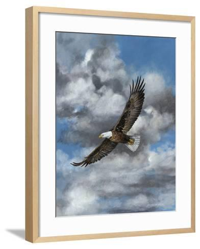 Soaring-Carolyn Mock-Framed Art Print