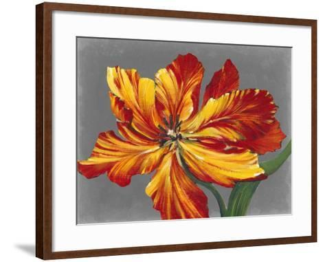 Tulip Portrait I-Tim O'toole-Framed Art Print