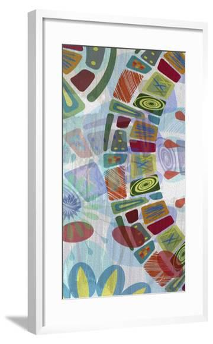 Midway Panels III-James Burghardt-Framed Art Print