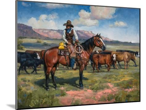 A Good Hand-Jack Sorenson-Mounted Art Print