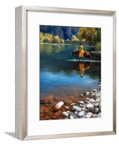 Shallow Crossing-Jack Sorenson-Framed Art Print